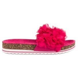 Seastar Modieuze roze slippers