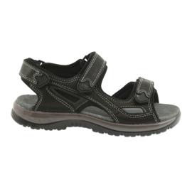 Velcro sandalen licht EVA DK zwart