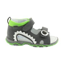 Sandalen jongensraapjes Bartek 51063 grijs