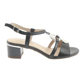 Sandalen met verfraaiing Caprice 28211 marineblauw