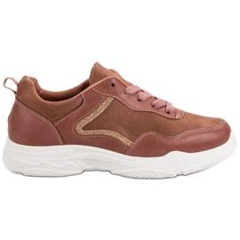 SHELOVET Modieuze sneakers roze