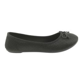 McKey sneakers ballerinas slip-in zwart
