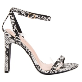 Seastar Sandals dierenprint grijs
