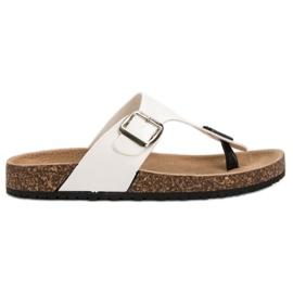 Seastar Comfortabele flip-flops wit