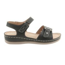 Sandalen voor dames comfort DK 25131 zwart