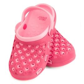 Roze Slippers AQUA-SPEED Itaka Jr 03 496