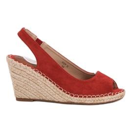 Seastar rood Wedders Sandalen