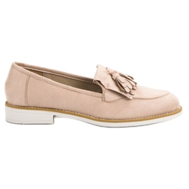 Bruin VICES beige mocassins