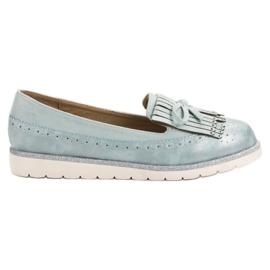 Balada Blauwe loafers voor dames