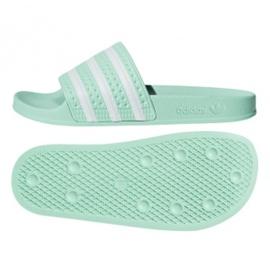 Adidas Originals Adilette slippers in CG6538 groen