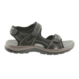DK sandalen zwart klittenband EVA-bodem