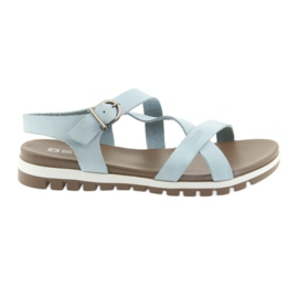 Big Star blauw Comfortabele sandalen