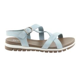 Big Star Comfortabele sandalen blauw