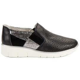 Filippo Zwarte schoenen instapper