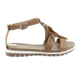 Bruin Big Star boho schoenen 274958