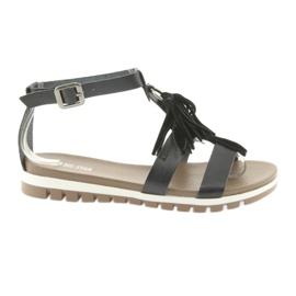 Big Star Boho sandalen 274958 zwart