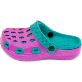 Slippers Aqua-speed Silvi Jr col 09 violetblauw