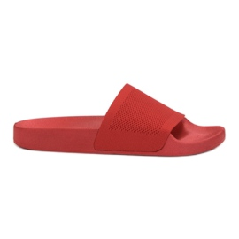 Rode slippers VICES rood