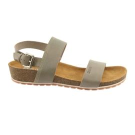 Grijze sandalen van Big Star Women 274A014
