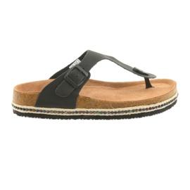 Dames flip-flops Big Star 274132 zwart