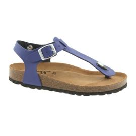 BIOX azul-flip-flops blauw