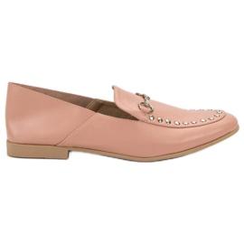 Roze VICES moccasins