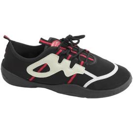 Strandschoenen Aqua-speed zwart grijs-rood 19A