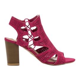 Goodin roze Modieuze sandalen Fuchsia
