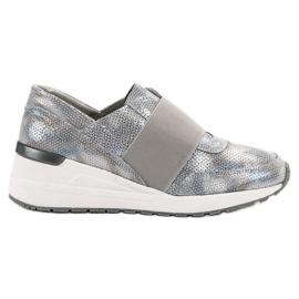Goodin grijs Instappers leren schoenen