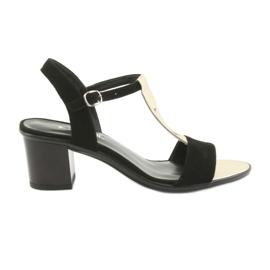 Sandalen voor dames Anabelle 1447 zwart / goud