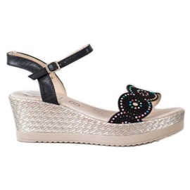 Kylie zwart Casual sandalen