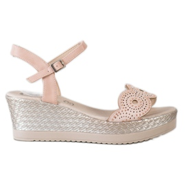 Kylie bruin Casual sandalen