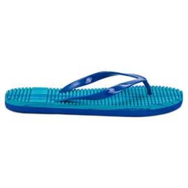 Ax Boxing Schuim-flip-flops blauw