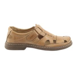 Naszbut bruin Volle sandalen Onze 968 beige
