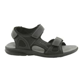 American Club Amerikaanse HL06 zwarte sport sandalen