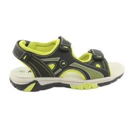 American Club RL22 jongens sandalen zwart