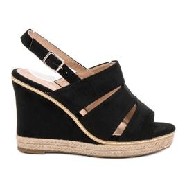 Primavera Zwarte sandalen
