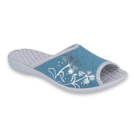 Befado blauw Overweldig damesschoenen pu 254D102