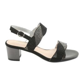 Sandalen op de post van Sergio Leone SK795 zwart