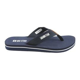 Big Star-flip-flops marineblauw