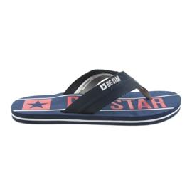 Riemen heren Big Star 174658 marineblauw