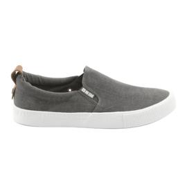 Grijs Big Star 174162 slip-on sneakers