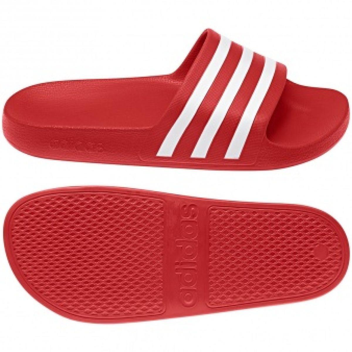 Adidas Adilette Aqua F35540 pantoffels rood