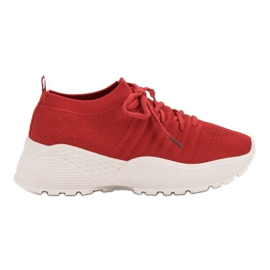 Sleuven VICES Sneakers rood