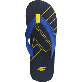 Slippers 4F M H4L19 KLM003 30S donker marine