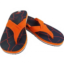 Slippers 4F M H4L19 KLM004 30S donker marine