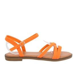 Damessandalen oranje WL255 Oranje