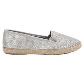 Balada grijs Silver Slipons