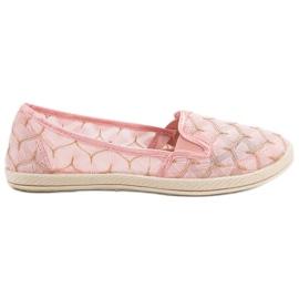 Roze Sneakers slip op VICES