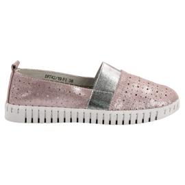 Filippo roze Slip-on schoenen met Brocade